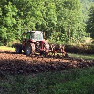 Préparation terrain Jardins partagés - Vaulnaveys-le-haut
